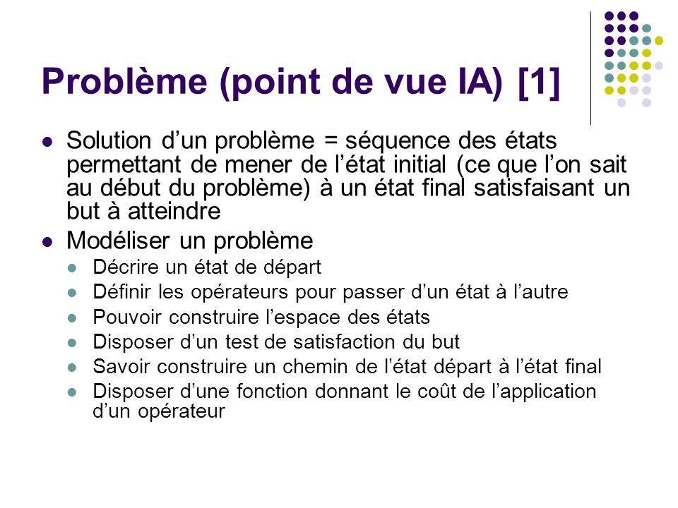 Problème (point de vue IA) [1]